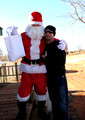 Santa at Moto city